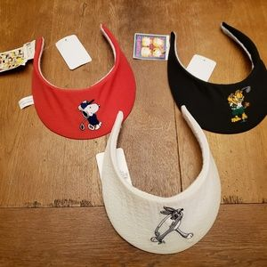 Vintage Looney Tunes visors